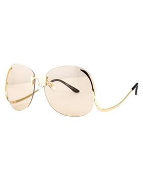 71f511e25b12 Product Image OVERSIZED Big Large Square Bella Women Tinted Lens Sunglasses  Baroque Shades