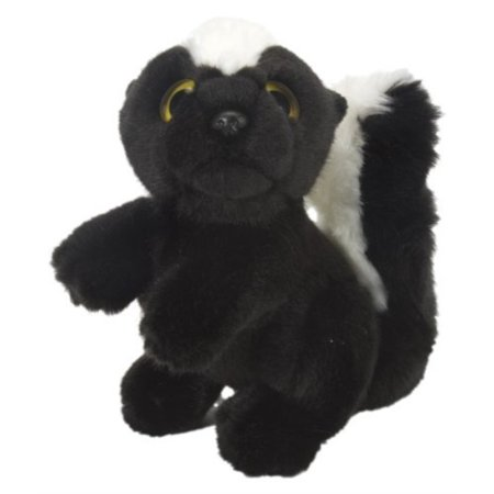 Wild Republic Skunk Stuffed Animal Plush Toy Wild Watchers 7 Inch