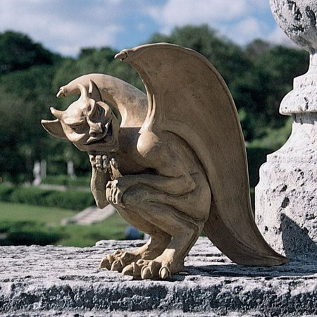 Design Toscano Legend of the Cambridge Hopping Gargoyle Sculpture - Large