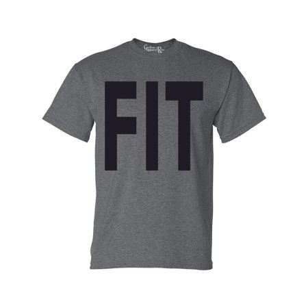 - FIT Workout Gym Athletic Mens Womens T-Shirt Top