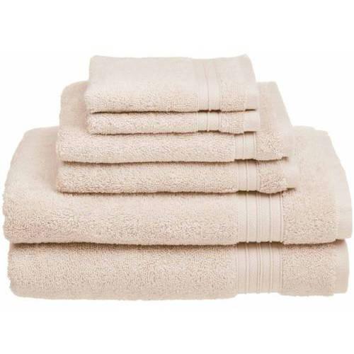 HygroSoft 6 Piece Towel Set by Welspun Global Brands Lt.