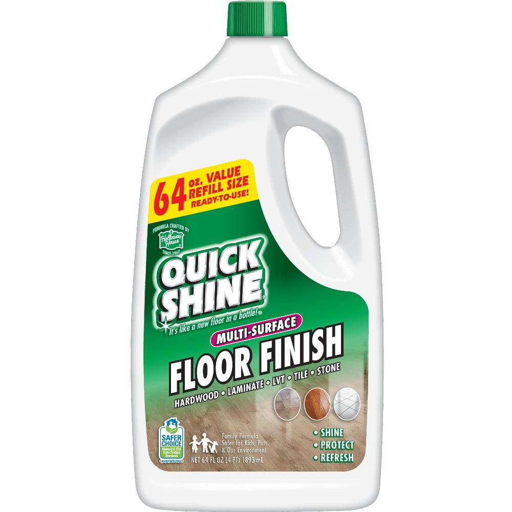 Quick Shine Multi-Surface Floor Finish 64 fl oz - Walmart.com