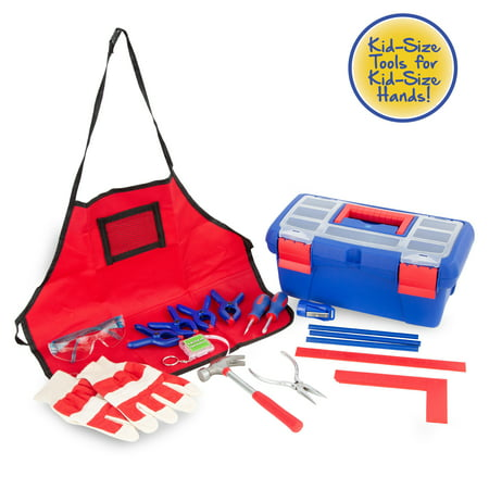 Create and Learn 18 Piece Children's Tool Set