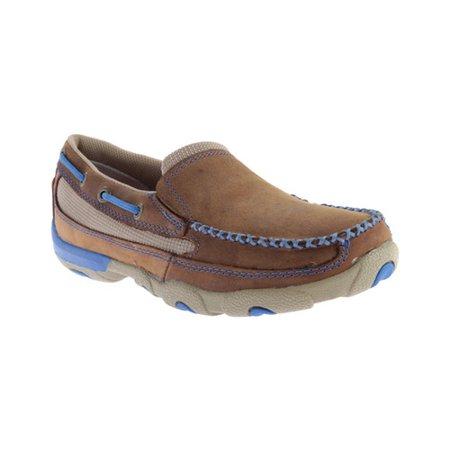 Women's Twisted X Boots WDMS004 Driving Moc Slip