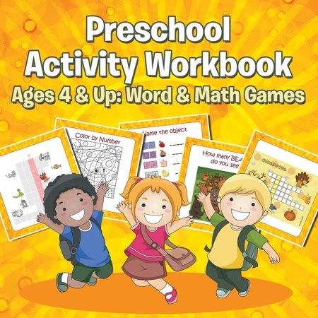 Preschool Activity Workbook Ages 4 & Up