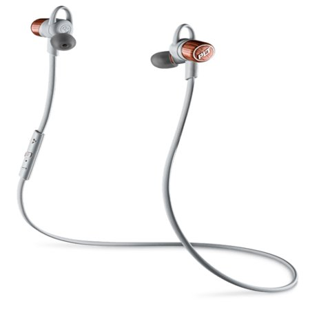 Refurbished Plantronics Backbeat GO 3 Copper Grey Stereo