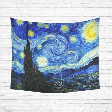 CADecor Starry Night Home Decor Tapestry Wall Art Wall Tapestry 60x80 Inches