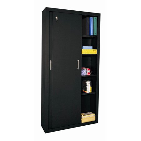 Elite sliding door storage cabinet w fully adjustable for One day doors and closets reviews