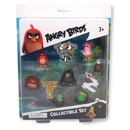 Angry Birds Movie 7-Piece Mini Figure Multi Pack: Set A](Play Angry Birds Halloween Hd)