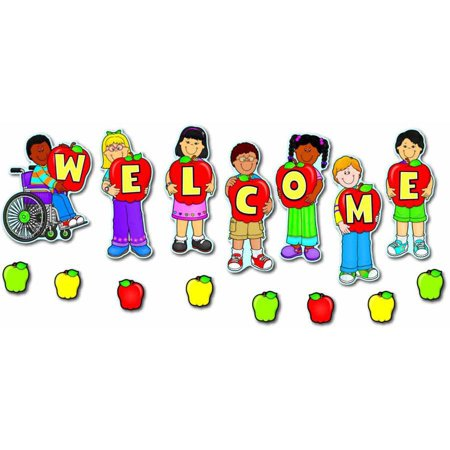 Carson-Dellosa Welcome Design Mini Bulletin Board Set - Bullitin Board