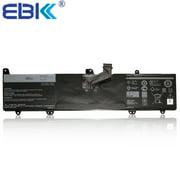 EBK Laptop Battery for DELL INSPIRON 11-3168 P25T SERIES 32Wh RECHARGEABLE BATTERY 8NWF3 08NWF3 OJV6J 0JV6J i3168-0028BLU