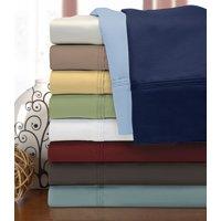 Impressions Fairfax Egyptian Cotton Solid Deep Pocket Sheet Set