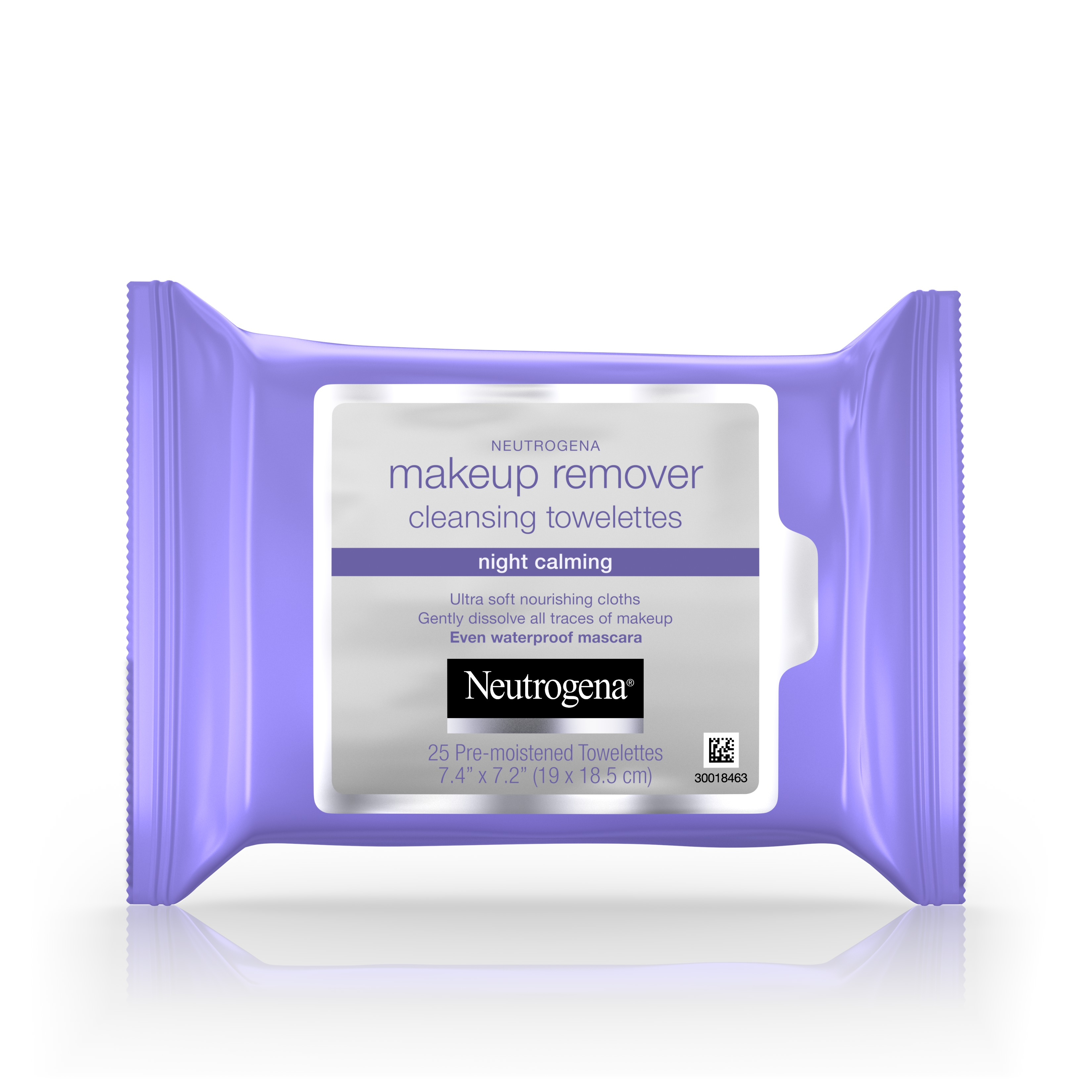 Neutrogena Makeup Remover Night Calming Cleansing Towelettes, 25 ct