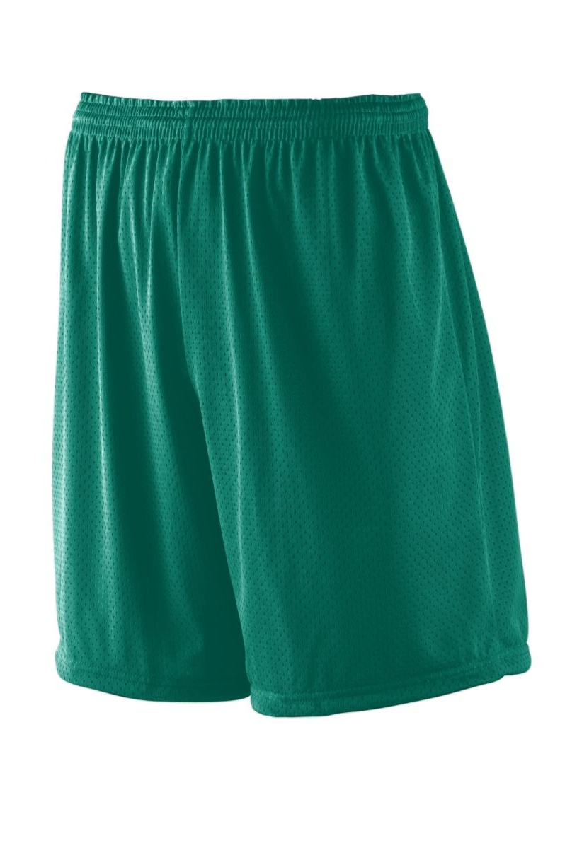 """Augusta Drop Ship Youth Tricot Mesh/Tricot-Lined 7"""" Short"""