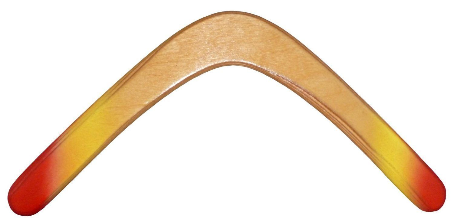 Glacier Wooden Boomerang For Kids 8-18 New by