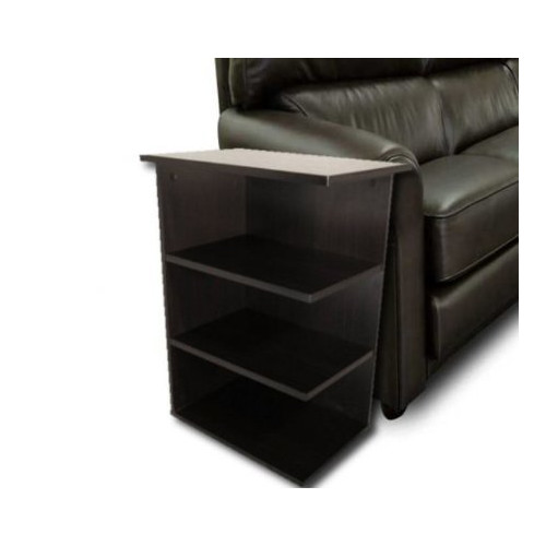 Home Concept Inc Magazine Rack Chairside End Table by Home Concept