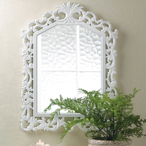 Zingz & Thingz Fleur De Lis Accent Wall Mirror by Zingz & Thingz