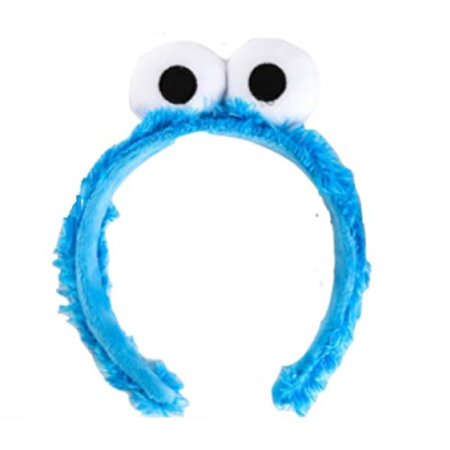 Sully From Monsters Inc Halloween Costume (Blue Cookie Lover Monster Fuzzy Costume Headband from Chunks of)