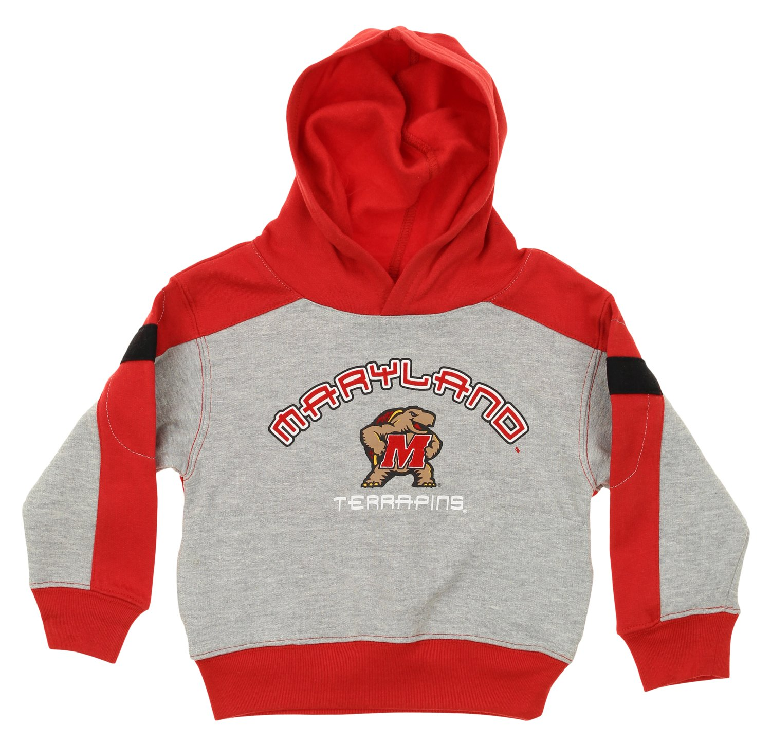 OuterStuff NCAA Toddlers Maryland Terrapins Top and Pant Jog Set, Red