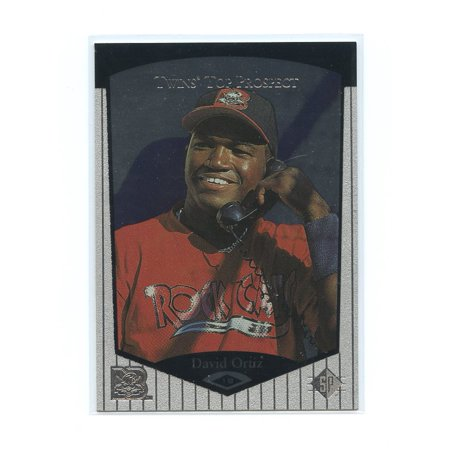 Upper Deck Sp Prospects Card (1998 Upper Deck SP Top Prospects #75 David Ortiz Boston Red Sox Rookie Card)