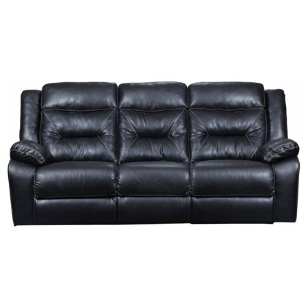 Simmons Yahtzee Onyx Double Motion Sofa