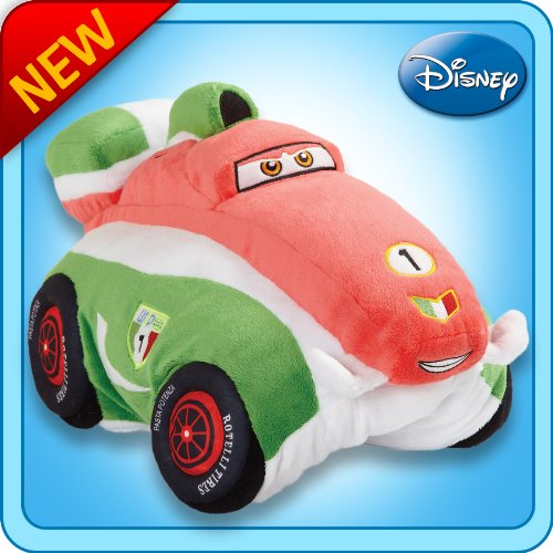 "Pillow Pets Authentic Disney Cars 18"" Francesco Bernoulli, Folding Plush Pillow"