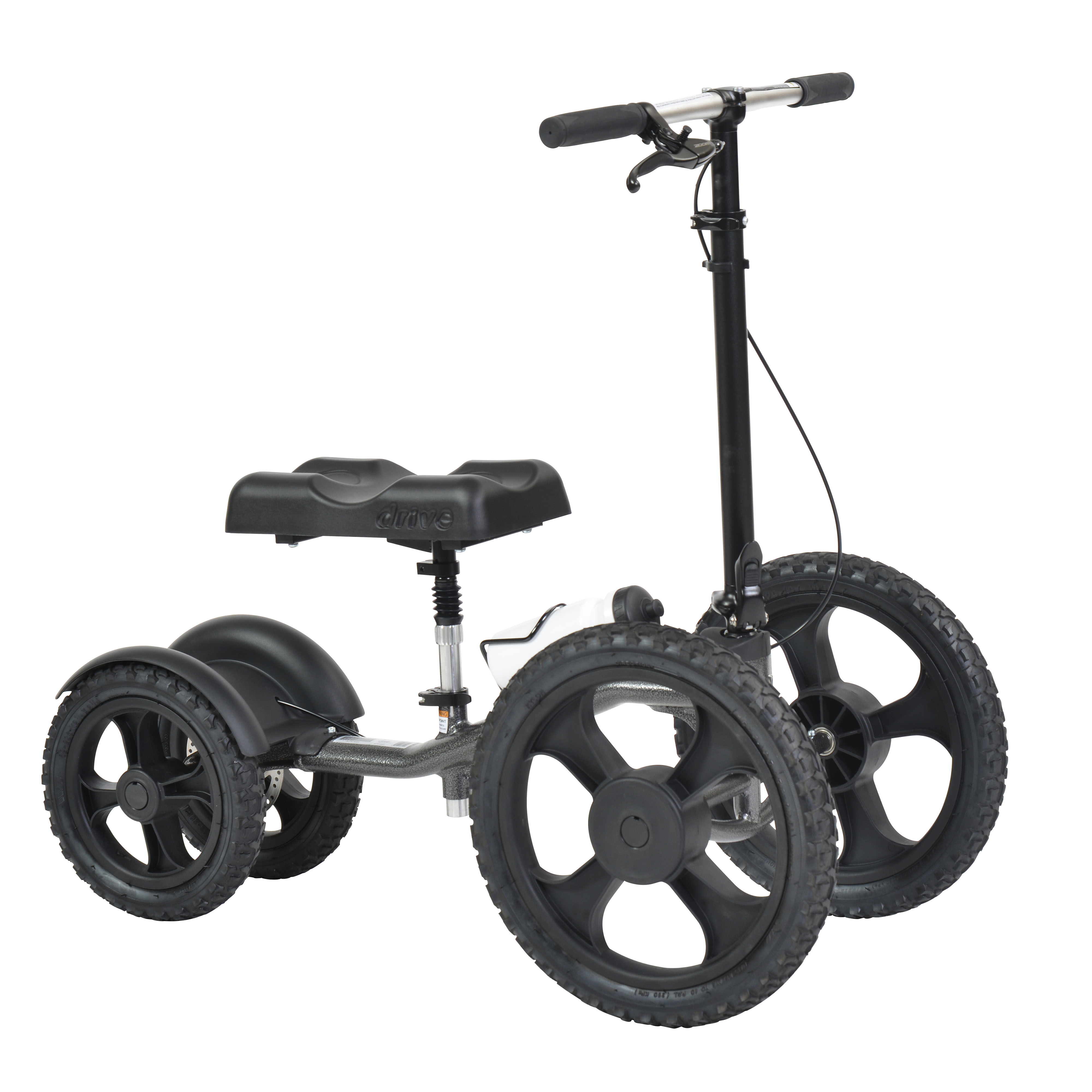 Drive Medical All-Terrain Knee Walker Knee Scooter, Crutch Alternative