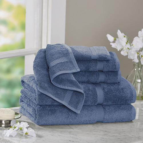 Bare Cotton Luxury 6 Piece Turkish Cotton Towel Set