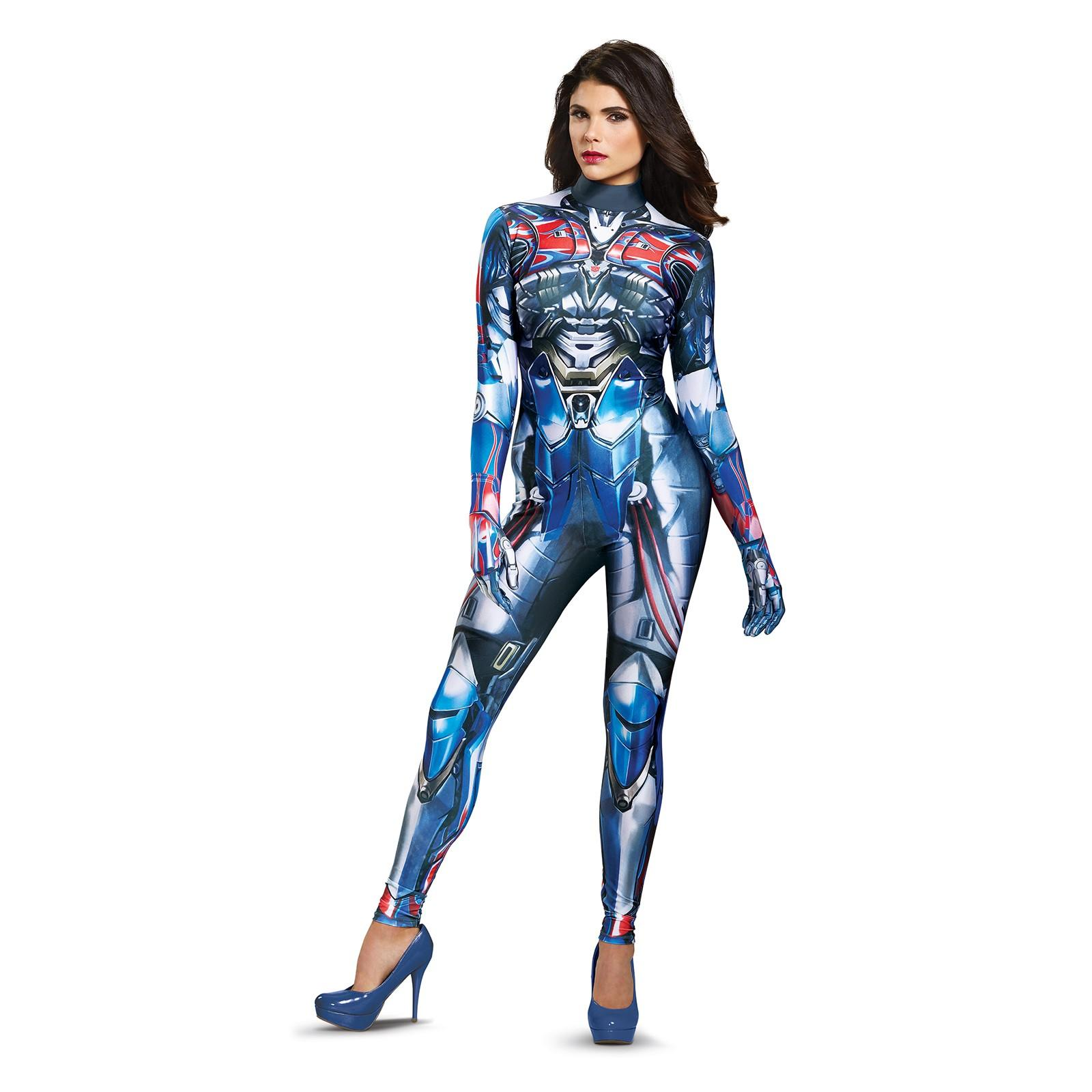 Transformers - Optimus Prime Female Bodysuit Adult Costume