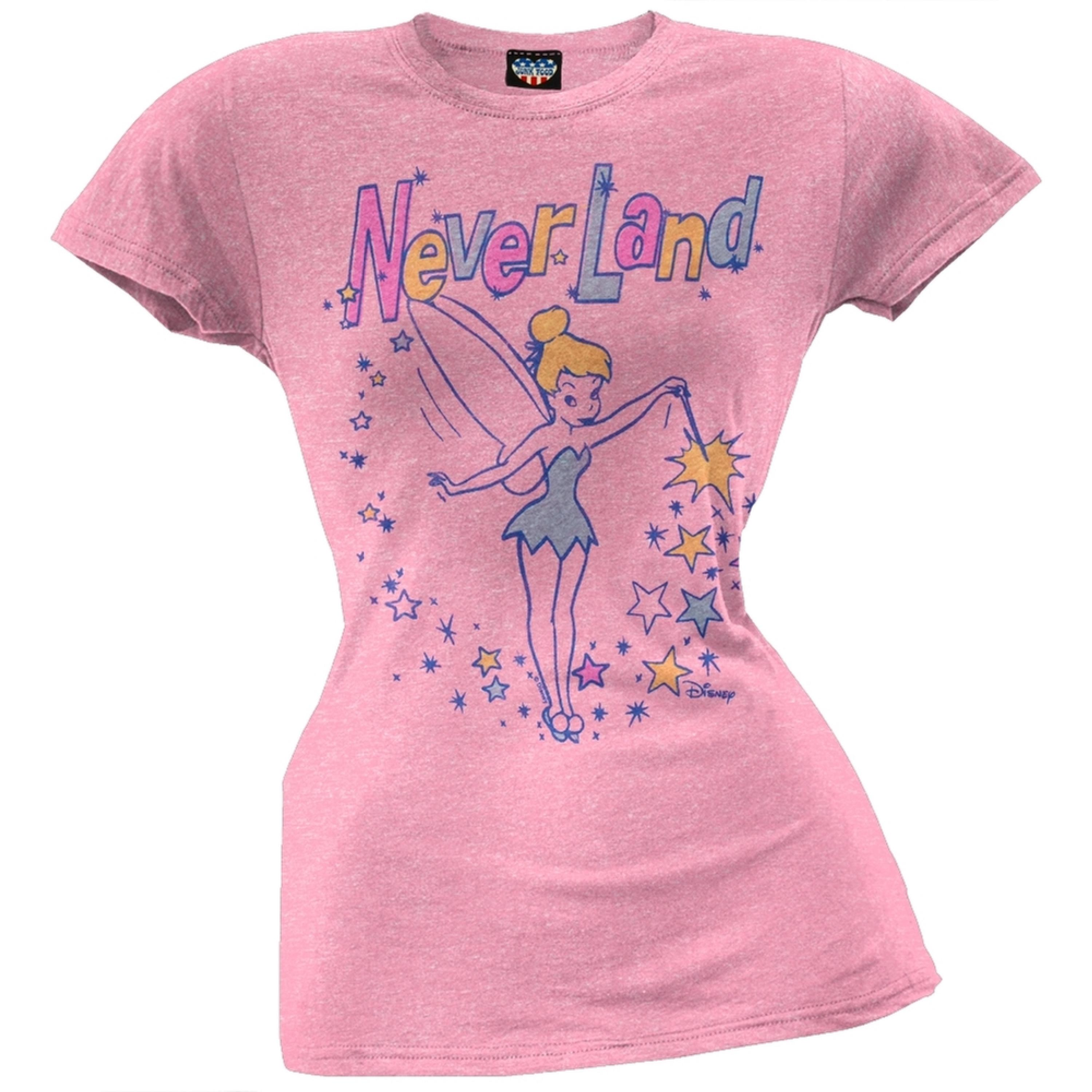 Tinkerbell - Never Land Juniors T-Shirt