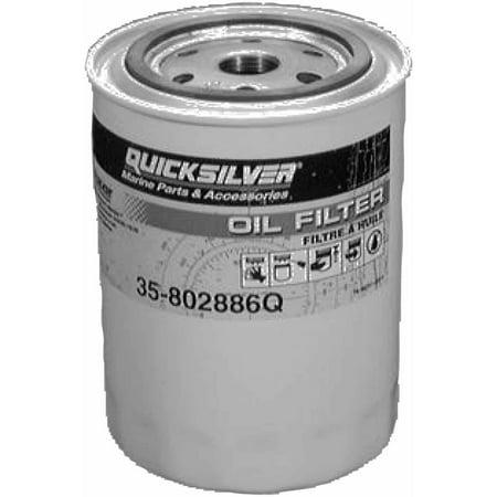Quicksilver 866340Q03 Oil Filter (Mercury Marine Oil Filter)