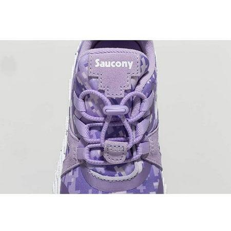 Saucony Girls' Voxel 9000 Sneaker, Purple, 105, Purple,  Size Little Kid 10.5 ()