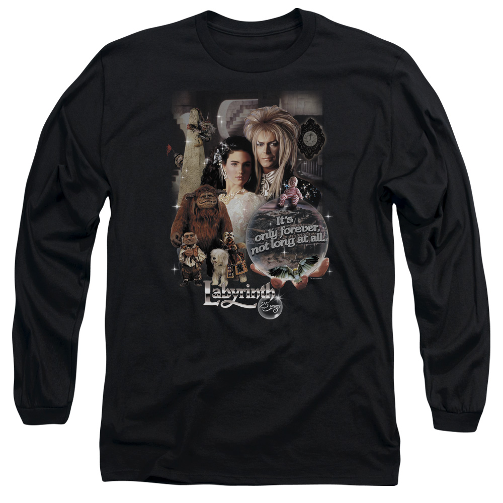 Labyrinth 25 Years Of Magic Mens Long Sleeve Shirt