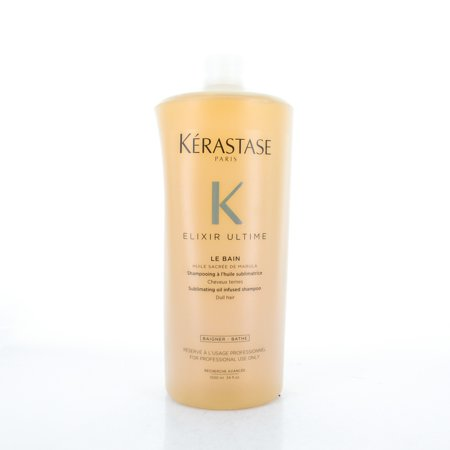 Kerastase Elixir Ultime Le Bain Shampoo, 34 Oz / 1000 ml ()