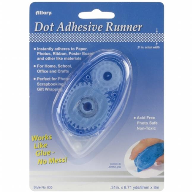 Allary 835 Permanent Dot Adhesive Runner -. 31''X8. 71yd