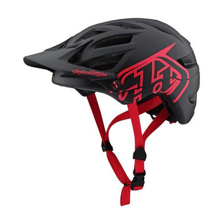 Troy Lee Designs Mountain Bike Helmet A1; Drone Black/Red Size (Troy Lee Designs A1 Drone Helmet Review)