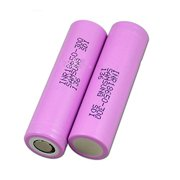 2 Pack of Authentic High Drain Samsung 30Q, 3000mAh 3.7V 15A, Flat Top,18650 Rechargeable Battery