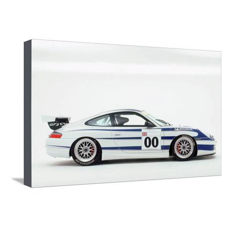 2003 Porsche 911 Carrera GT3 Cup Stretched Canvas Print Wall Art