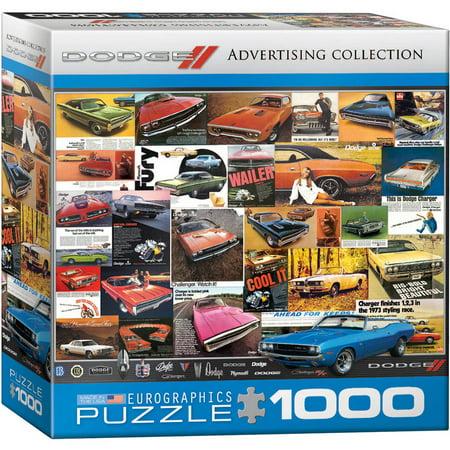 Eurographics Vintage Car Ads  Dodge 1000 Piece Puzzle