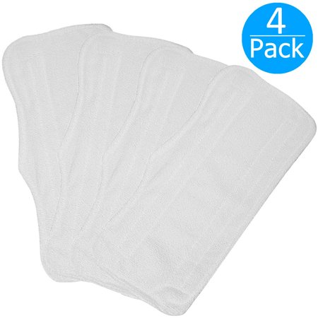 4-pack Replacement Microfiber Pad for Shark Steam Mop S3250 S3101 XT3010