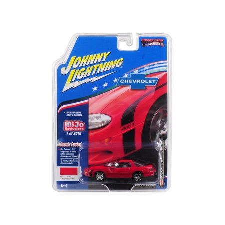 """2002 Chevrolet Camaro ZL1 427 Red """"Muscle Cars USA"""" Limited Edition to 2,016 pieces 1/64 Diecast Car by Johnny Lightning"""