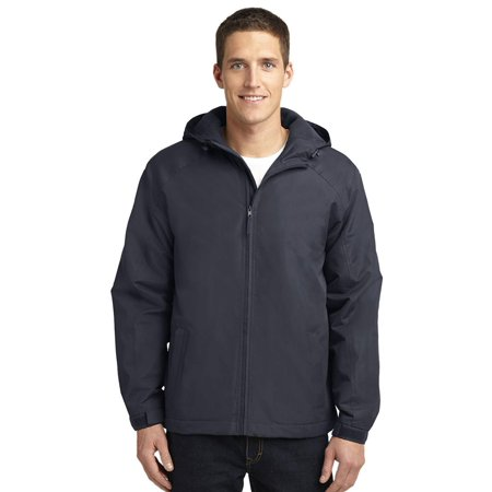 Moda Insulated Coat - Port Authority Men's Insulated Hooded Charger Jacket