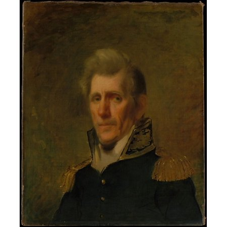 General Andrew Jackson Poster Print By Samuel Lovett Waldo  1783   1861   18 X 24