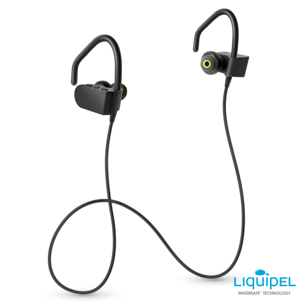 d0f32781dca Photive BTE70 Wireless Bluetooth Earbuds. Sweat Proof Wireless Earphones.  In-Ear Wireless Headphones with Built-in Microphone - Walmart.com