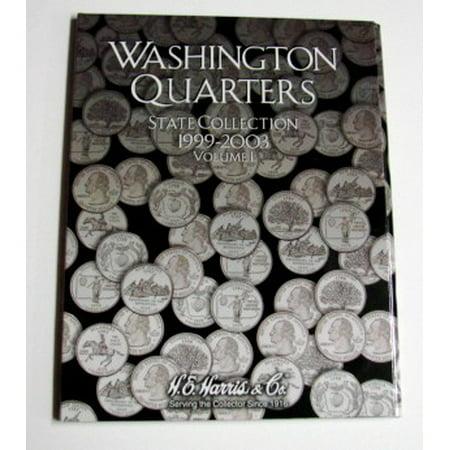 Vol.1, 1999 thru 2003 Washington State Quarters Coin