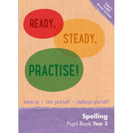 Ready, Steady, Practise! – Year 5 Spelling Pupil Book : English - Halloween Spelling Practice