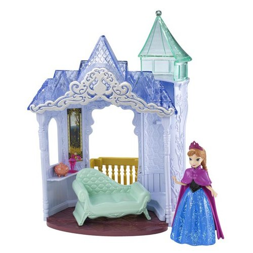 Disney Frozen Small Doll Anna and Palace Play Set