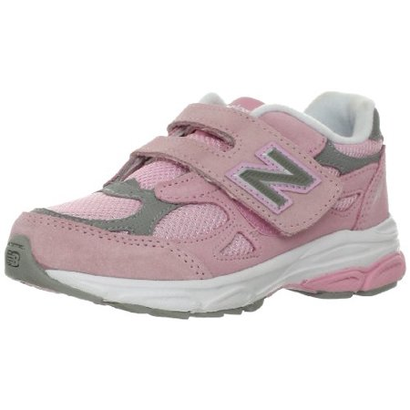 huge selection of 45145 dddb1 New Balance KV990PGP: 990 Pink Grey Little Kids Running Sneakers (12 W US  Little Kid, Pink Grey)