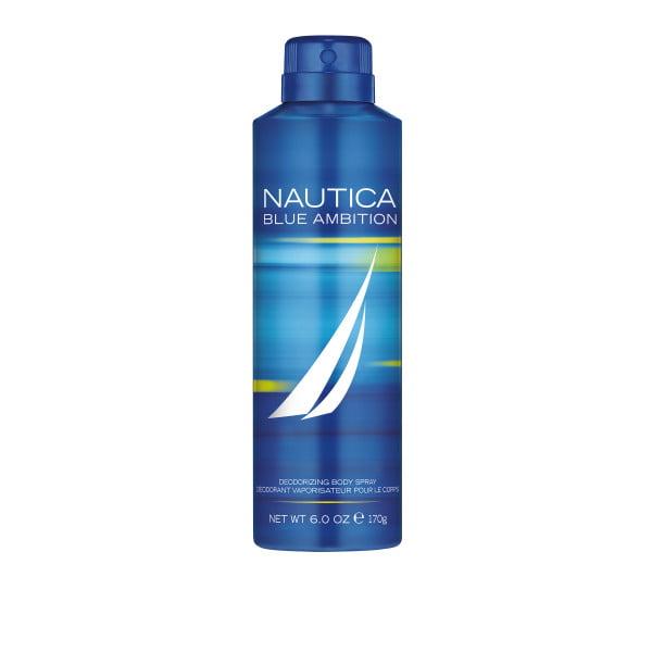 Nautica Blue Body Spray for Men, 6 Oz