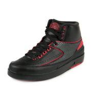 "Air Jordan 2 II Retro ""Alternate 87"" Black - Gym Red"